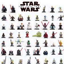LEGO MINIFIGURES STAR WARS DARTH VADER - YODA - KYLO REN - CUSTOM NUOVE