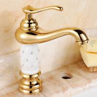 Retro Vintage Design Einhebel Wasserhahn Waschbecken Mischbatterie Küche Armatur