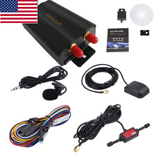 Car GPS SMS GPRS Tracker Real Time Tracking Device Syatem Remote TK103B US Stock