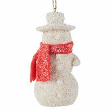 SAND SNOWMAN Beach Christmas Ornament by Raz