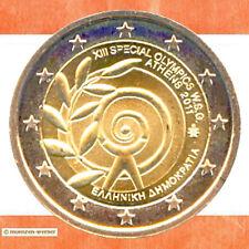 Sondermünzen Griechenland: 2 Euro Münze 2011 Special Olympics Athen Sondermünze