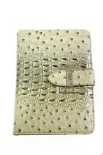 Gorgeous Elegant  Crocodile Skin Look Save iPad Mini Green Case with Belt (S296)