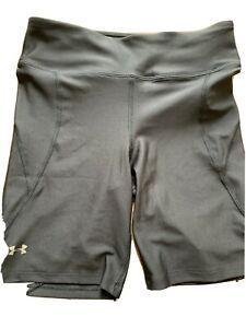 under armour Women shorts Black Medium Running Gym Lycra