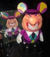 "DISNEY VINYLMATION 3"" Villains 1 Governor Radcliffe Rare With Card Pocahontas"