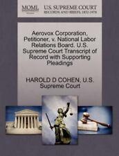 Aerovox Corporation, Petitioner, V. National Labor Relations Board. U.S. Supr...