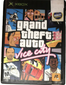 Grand Theft Auto Vice City Xbox Original Blockbuster Variant Collectible Gta