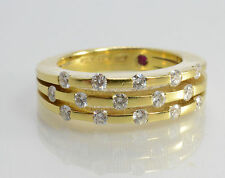 Roberto Coin 18kt Yellow Gold Diamond Ring