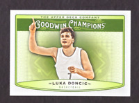 2019 Upper Deck Goodwin Champions LUKA DONCIC Rookie Card Mint Mavericks #80