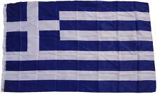 XXL Flagge Griechenland 2,5 x 1,5 m mit 3 Metallösen zum Hissen Hissflagge Fahne