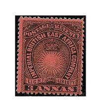British East Africa stamps1891, 3 annas black/dull red, SG.8 LH - F475