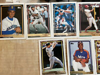 Lot Of 9 1992 TOPPS GOLD LOFTON RC/MOLITOR/MCGWIRE/LARKIN/BOGGS/PALMEIRO SP RARE