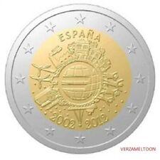 "SPANJE: SPECIALE 2 EURO 2012 UNC: ""10 JAAR EURO"""