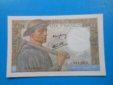 10 francs mineur 9-1-1947 F8/17  SPL