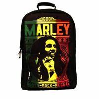Bob Marley Roots Rock Laptop Backpack - School Uni Bag