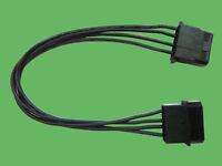Inter.Molex Verlängerung 20cm black poly Innovation IT Neu