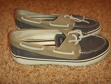 Sperry Top-Sider Bahama Navy Chino 9561234 Womens Size 8M