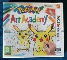 Pokémon Art Academy 3DS NUEVO!!!