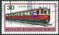Berlin 382 I gestempelt Plattenfehler PF Michel 200,00 € Berliner Verkehrsmittel