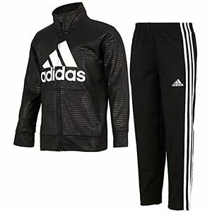 Adidas Toddler Boys Tricot Jacket & Pant Tracksuit Set Pick Sz & Color TINI {&}