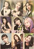 TWICE Poster #B02 Tsuyu Momo Sana Nayeon Dahyun Mina Jeongyeon Chaeyoung Jihyo