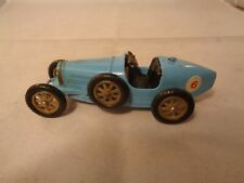 Matchbox Yesteryear no.6 Bugatti Type 35 Racing Car In Blue , Vintage Diecast