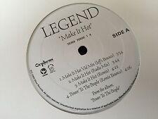 "LEGEND MAKE IT HOT POWER TO THE PEOPLE 12"" LP 2000 DIJION RECORDS 70500 HIP HOP"