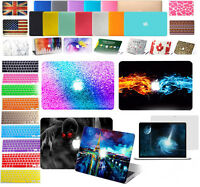 "Laptop Hard Case Keyboard Skin Cover For MacBook Pro 13"" / 15"" 2018 A1989/A1990"