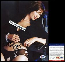 CATHERINE BELL IN PERSON SIGNED 8X10 COLOR PHOTO PSA/DNA COA