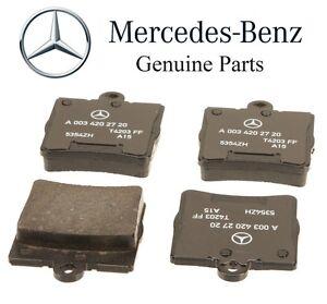 For Mercedes R171 W203 Chrysler Crossfire Rear Brake Pads Genuine 0034202720