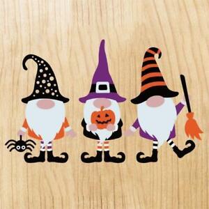 Halloween Gnomes Metal Cutting Dies Stencil DIY Scrapbooking Album Paper Card