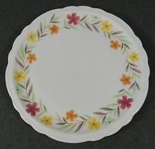 """Sterling Vitrified China Restaurant Ware 9 1/4"""" Salad Lunch Plate Scallop Edge"""