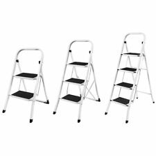 More details for 2 3 4 step ladder safety non slip mat tread foldable kitchen by home discount