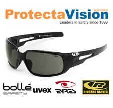 Eyres CHILLI POLARISED Safety Glasses/Sunglasses - Black Frame - Med. Impact.