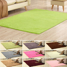 Large 3cm Thick Shaggy Area Rugs Soft Pile Area Rug Mats Home Room Pad