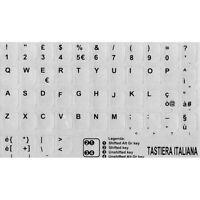 ADESIVI LETTERE TASTIERA ITALIANA-ITA STICKERS NOTEBOOK PC GRIGIO CHIARO ACER