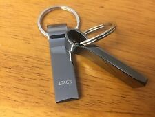 128GB USB 2.0 Flash Drive With Keychain High Speed Memory Stick Thumb Drive