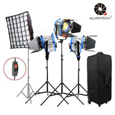 As Arri 3PCS 650W Dimmer Built-in Fresnel Tungsten Spot light + Softbox Camera