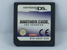 Another Code - Two Memories für Nintendo DS/Lite/XL/3DS - Modul - Guter Zustand
