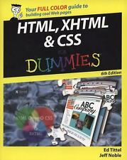 HTML, XHTML and CSS for Dummies by Tittel, Ed