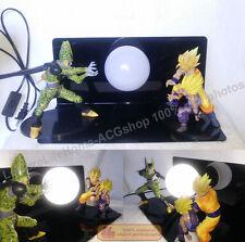 Dragon Ball Z Son Goku Gohan Cell Kamehameha Figure Led Light Lamp creative Gift