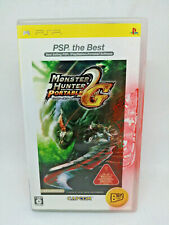 Sony PLAYSTATION Psp Monster Hunter Portable 2nd G the Best Capcom Japan View