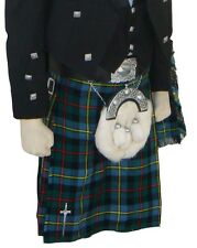 Scottish | MacLeod de Harris Tartan Kilt lourde & kilt pin | Geoffrey
