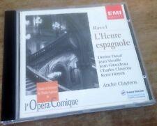 EMI CLASSICS 724356526921 RAVEL l'heure espagnole CLUYTENS 1994 CD