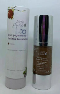 100% Pure - Fruit Pigmented Healthy Foundation, Natural & Vegan COCOA - Sealed