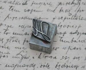 H Initial Bleibuchstabe Stempel Siegel Buchstabenstempel Siegelbuchstabe Letter.