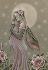 """Jessica Galbreth Print 5x7"""" Fairy THE GIFT pregnant mother baby shower girl New"""