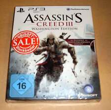 PlayStation 3 ps3 juego-figuras assassins creed iii-washington Edition-nuevo embalaje original