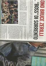 SP40 Clipping-Ritaglio 2013 Sono Bruce Zerilli il boss di Sorrento Springsteen