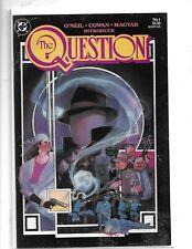 The Question #1 DC 1986 Copper Age Comic Book VF-/VF