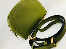 Marc Jacobs Playback Saffiano Leather Crossbody Bag Green